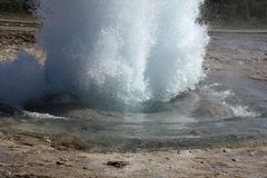 Geyser no 1 Royalty Free Stock Images
