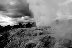 Geyser Nouvelle-Zélande Photographie stock libre de droits