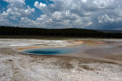 Geyser pool Royalty Free Stock Images