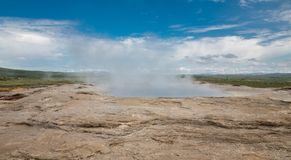 Geyser Royalty Free Stock Photography