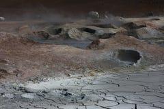Geyser Sol de Manana lizenzfreie stockfotografie