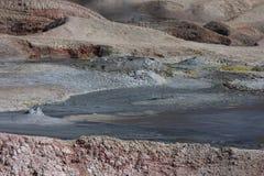 Geyser Sol de Manana Royalty Free Stock Image