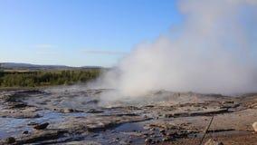 geyser strokkur απόθεμα βίντεο