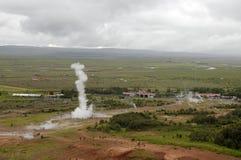 geyser strokkur Στοκ φωτογραφία με δικαίωμα ελεύθερης χρήσης