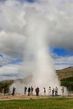 Geyser Strokkur Royalty Free Stock Photos