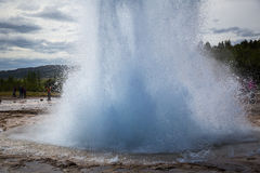 Geyser Strokkur Royalty Free Stock Photography