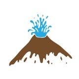 Geyser, vector logo Royalty Free Stock Image