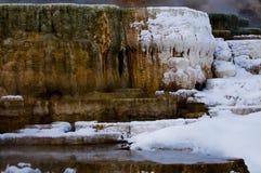 Geyser in Winter Stock Photos