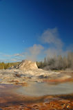 geyser yellowstone Arkivfoton