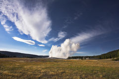 Geyser in  Yellowstone national park Royalty Free Stock Photography