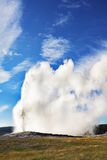The  geyser in Yellowstone national park Royalty Free Stock Images
