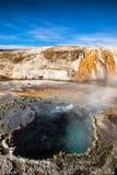 Geyser Yellowstone Stock Photo