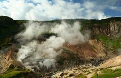 geysers κοιλάδα mutnovskaya στοκ φωτογραφία
