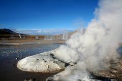 geysers της Χιλής EL tatio Στοκ φωτογραφία με δικαίωμα ελεύθερης χρήσης