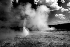 Geysers υπόγειων θαλάμων και Giantess Στοκ Φωτογραφίες