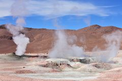 Geysers Stock Images