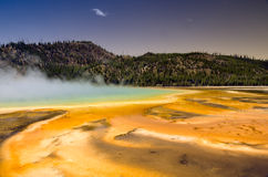 Geysers de parc national de Yellowstone Photos stock