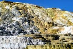 Geysers 2 de parc national de Yellowstone images libres de droits