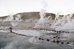 Geysers EL Tatio, Χιλή Στοκ εικόνες με δικαίωμα ελεύθερης χρήσης