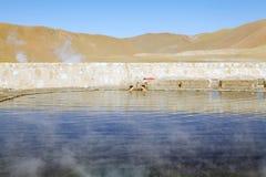 Geysers EL Tatio, Χιλή Στοκ φωτογραφία με δικαίωμα ελεύθερης χρήσης