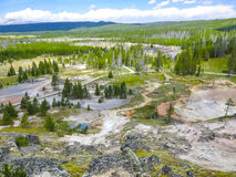 Geysers i Yellowstone Royaltyfria Bilder