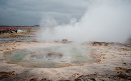 Geysers of Iceland Stock Image