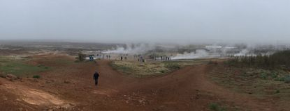 Geysers of Iceland Royalty Free Stock Photography