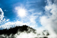 Geysers at Yellowstone Royalty Free Stock Images