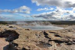 geysir Ισλανδία Στοκ φωτογραφίες με δικαίωμα ελεύθερης χρήσης