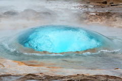 Geysir Foto de archivo libre de regalías