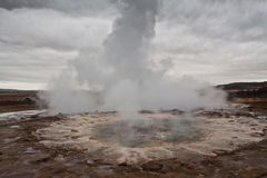 Geysir d'upp de coup Photo stock