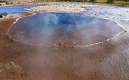 Geysir dormiente in Islanda Immagine Stock Libera da Diritti