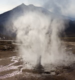 Geysir-Feld EL-Tatio - Chile Stockbild