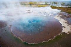 Geysir geotermiczny teren, Iceland Zdjęcie Royalty Free