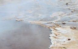 Geysir Geothermal Field Stock Photos