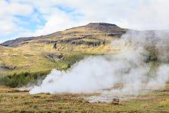 Geysir Geothermal Field Royalty Free Stock Photo