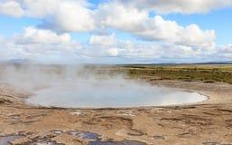 Geysir Geothermal Field Stock Images