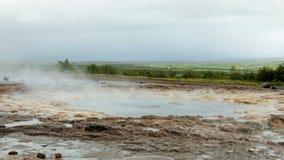 Geysir, Iceland stock footage