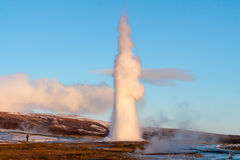 Geysir Iceland Royalty Free Stock Images
