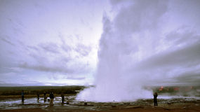 The Geysir Stock Image