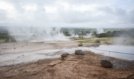 Geysir park, Iceland Royalty Free Stock Images