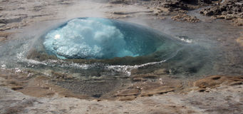 Geysir Strokkur Iceland 3 Royalty Free Stock Photography