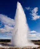 Geysir Strokkur IJsland Royalty-vrije Stock Afbeelding
