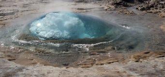 Geysir Strokkur Island 3 Lizenzfreie Stockfotografie