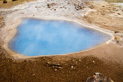 Geysir teren Obraz Royalty Free
