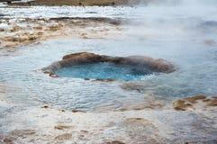 Geysirgebied Stock Afbeeldingen