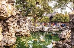 Geyuan ogród Yangzhou klasyczny ogród Zdjęcia Stock