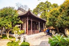 Geyuan ogród Yangzhou klasyczny ogród Zdjęcia Royalty Free