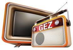 GEZ. 3D concept for german GEZ registration Royalty Free Stock Photography