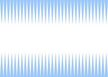 Gezackter Hintergrund weiß und hellblau Stockbilder